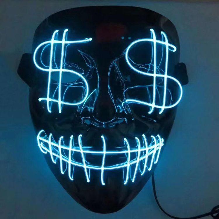 Led Masks Custom Latex Mask Silicone Mask Halloween Mask