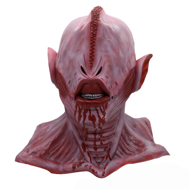 halloween cosplay mask alien bloody ghost skeleton scary